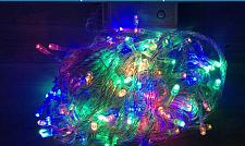 Buy 10m/100leds With 8 Diffrerent Modes RGB String Islamic Light Outdoor Ramadan Eid
