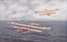 Buy British British Flying Boats WW I War Bond Vintage Postcard