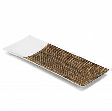 Buy *17345U - Intermix Long Aluminum Accent Dish