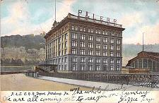 Buy Pittsburg & Lake Erie, P.&L.E. Railroad Depot, Pittsburg PA Vintage Postcard