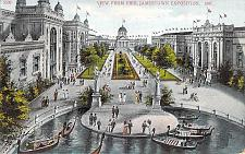 Buy 1907 View From Pier, Jamestown Exposition Used Postcard