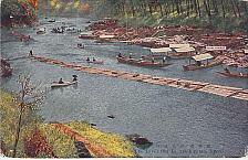 Buy The River Ohi in Arashiyanah Kyoto Vintage Japanese Postcard