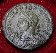 Buy Crispus, IVL CRISPVS NOB CAES, RIC VII Trier, 346, R5, Authentic Roman Coin