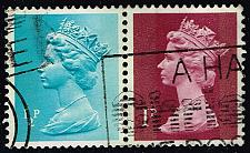 Buy Great Britain #MH22-MH23 Machin Head; Used Pair (0.50) (3Stars) |GBRMH023-05XVA