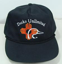 Buy NEW DUCKS UNLIMITED NEW MEXICO BLACK ADJ CAP HAT RELAXED FIT