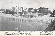 Buy Townsend's Inlet Sea Isle City, NJ, Doane Postmark, Inverted Year Postcard