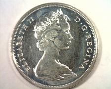 Buy 1967 CANADIAN HALF DOLLAR CHOICE UNCIRCULATED PROOF LIKE CH. UNC. PL ORIGINAL