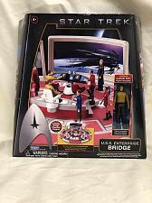 Buy Action Figure Star Trek Playset Enterprise Bridge in Box Playmates 2009