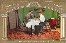 Buy The Time the Place and the Girl Romance Vintage Postcard