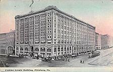 Buy Jenkins Arcade Building Pittsburgh, PA, Tram, Autos Vintage Postcard