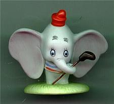 """Buy Disney - Dumbo - Procelain - Bisque - Miniature - Figuine 2 1/2"""""""