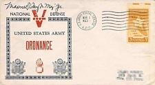 Buy Maj. General General Maxwell Taylor Autograph Cover, WWII APO 403