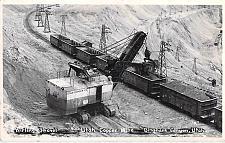 Buy Wirling Shovel Utah Copper Mine, Bingham Canyon Real Photo Vintage Postcard