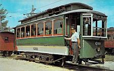 Buy #1059 Interurban Trolley Belt Line, Boston Vintage Postcard