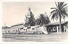 Buy Santa Fe Streamline & Station San Diego Real Photo RPPC Unused Vintage Postcard