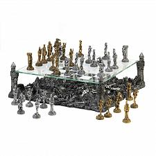 Buy 15189U - Castle Battle Grounds Medieval Theme Figure Chess Set Board Game