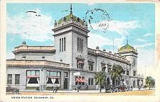 Buy Union Station, Savannah GA Vintage Postcard
