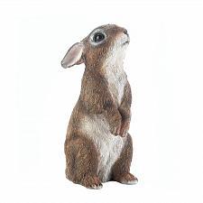 Buy *17886U - Brown Standing Bunny Rabbit Garden Statue Yard Art