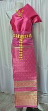 Buy Thai Tradition Synthetic Silk Fabric Top Skirt Wedding dress Costume Clothing