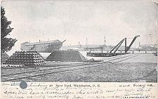 Buy US Navy Yard, Washington D.C. 1907 View, Vintage Postcard