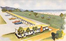 Buy Deane's Oceanside Lodge, Waldport, Oregon Vintage Postcard