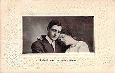 Buy I Don't Want No Better Place Embossed Fancy Border Vintage Romance Postcard