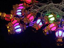 Buy Islamic Moroccan Lantern RGB Led String Lights 4m/20leds Ramadan Eid Festival
