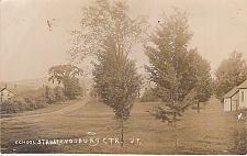Buy School Street, Endsburg Center, Vt Real Photo RPPC Vintage Postcard