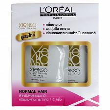 Buy L'Oreal Xtenso Oleoshape Hair Straightener Set for Normal Hair 125ml + 125ml