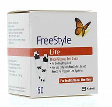 Buy FREESTYLE Lite Diabetic Blood Glucose Test Strips 100 ct Long dated +100 lancets