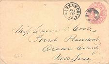 Buy Circa 1868, Alexandria Va. Fancy Cancel, Skinner Eno GE-R 20, U59