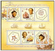 Buy ROMANIA 2005 EUROPA / SHIPS /COLUMBUS souvenir sheet MNH