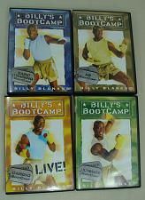 Buy 4 DVD Set Billys BootCamp Workout Program: Basic Training ABs Cardio Ultimate