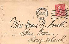 Buy 1901 Schenectady, NY Cover with American Machine Received Back-stamp