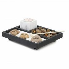 Buy *18309U - Live Love Laugh Zen Tabletop Garden Accent Art Décor
