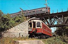 Buy Chicago, Aurora and Elgin Interurban Car Relic Trolley Museum Postcard