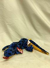 Buy Beanie Baby Lizzy the Lizard (Blue) With Tag TY 1996