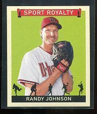 Buy 2007 UPPER DECK GOUDEY SPORT ROYALTY SP RANDY JOHNSON, #SR-RJ