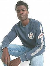 Buy Lucky Brand Men's Chevrolet Circle Burnout Sweatshirt L/G