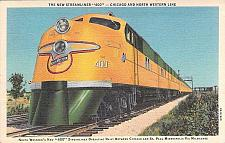Buy The New Streamliner 400 - Chicago and North Western Line Vintage Postcard
