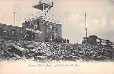 Buy Cog Railway at Summit, Pike's Peak, Altitude 14,147 Ft. Vintage Postcard