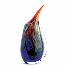Buy 15134U - Dreamscape Art Glass Vase Hand Crafted Unique Coloring
