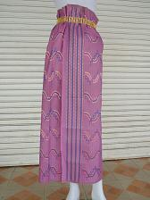 Buy Myanmar Traditional Fashion Fabric for Clothing Dress Long longyi Skirt LY5
