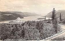 Buy Columbia River Highway, Vista House Oregon Real Photo RPPC Vintage Postcard
