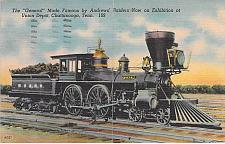 Buy The General, Civil War Engine, Union Depot, Chattanooga, Tenn Postcard