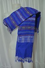 Buy Laotian Jok Sabai Cotton Fabric Thai Lao Laos Textile Wrap Scarf Shawl SC55