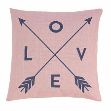 Buy *18713U - Romantic Love Arrows 17'' Decorative Accent Throw Pillow