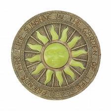 "Buy *17958U - Bursting Sun Glowing 10"" Garden Stepping Stone Yard Art"