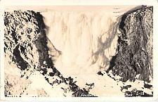 Buy Frozen Falls, McKinley National Park, Alaska Real Photo RPPC Vintage Postcard
