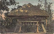Buy Home of th eHead Hunters, Luzon, Philippine Islands Vintage Postcard